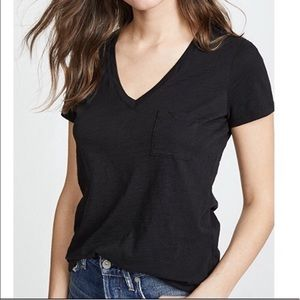 Madewell | Cotton V-Neck T-Shirt Pocket